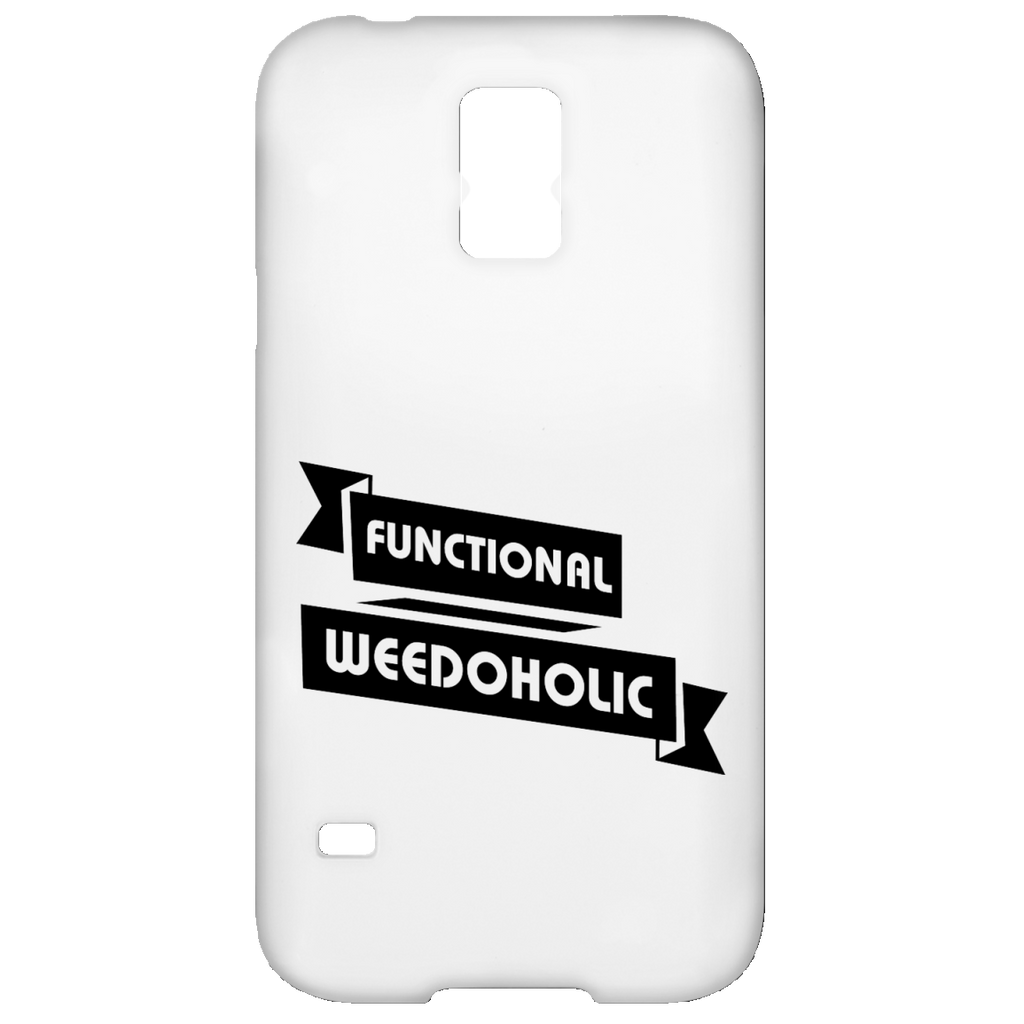 Functional Weedoholic Samsung Galaxy S5 Case