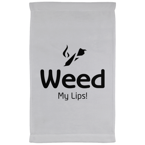 Weed My Lips Kitchen Towel