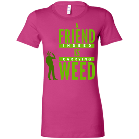 A Friend Indeed Ladies T-Shirt