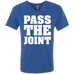 Pass The Joint Men's V-Neck T-Shirt