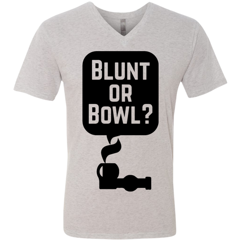 Blunt Or Bowl Men's V-Neck T-Shirt