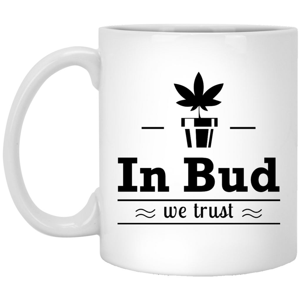 In Bud We Trust Mug