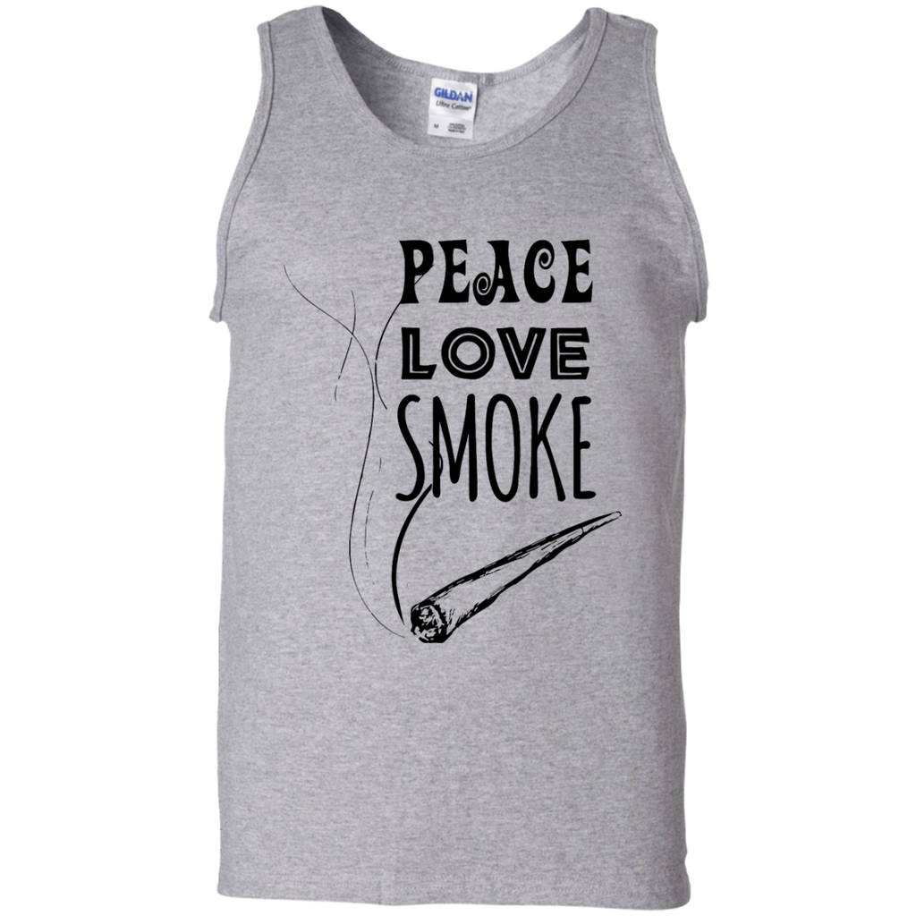 Peace Love Smoke Tank