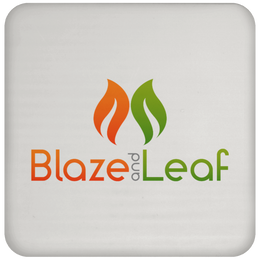 Blaze And Leaf Coaster