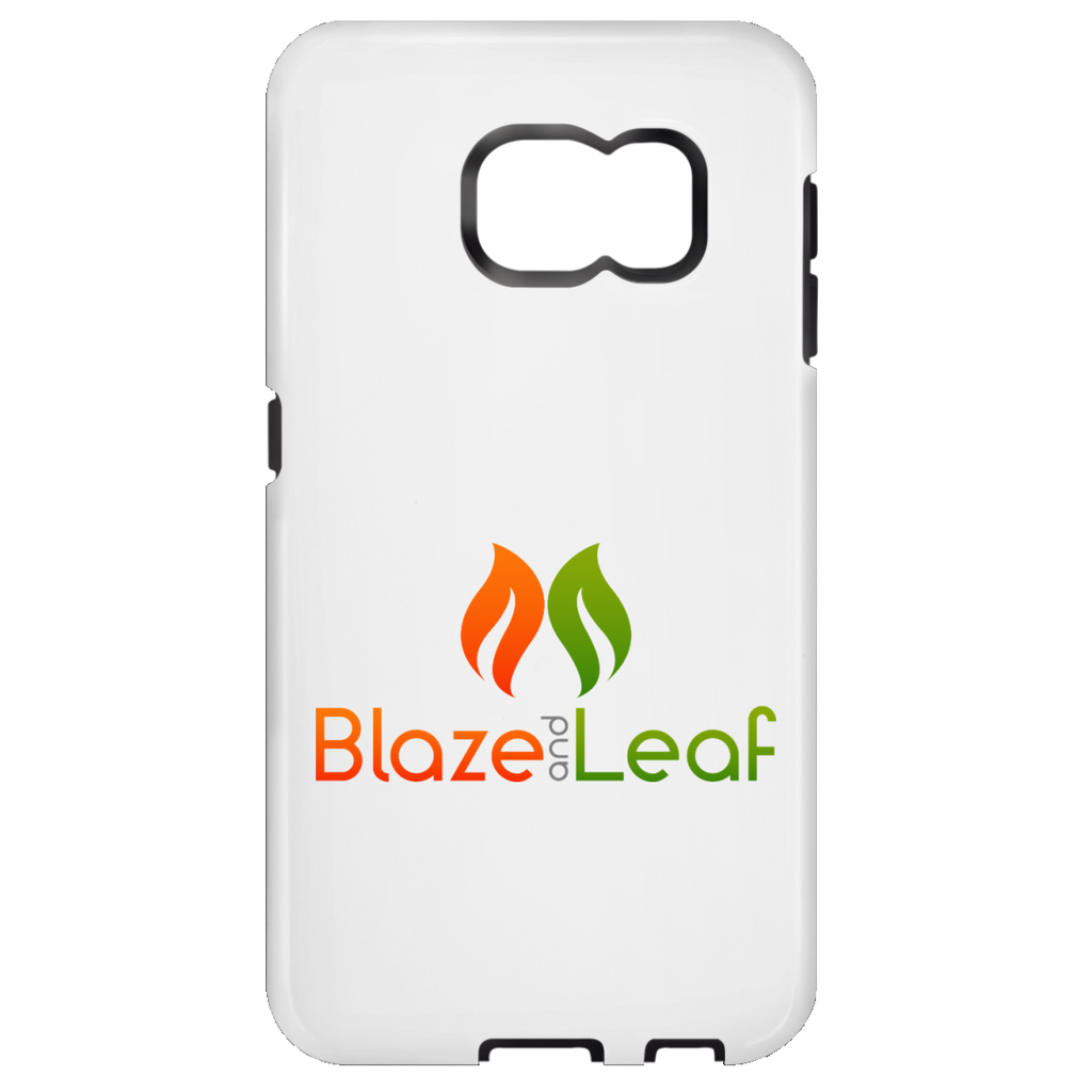 Blaze And Leaf Logo Samsung Galaxy S6 Tough