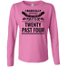 Waiting For 20 Past 4 Ladies Long Sleeve T-Shirt