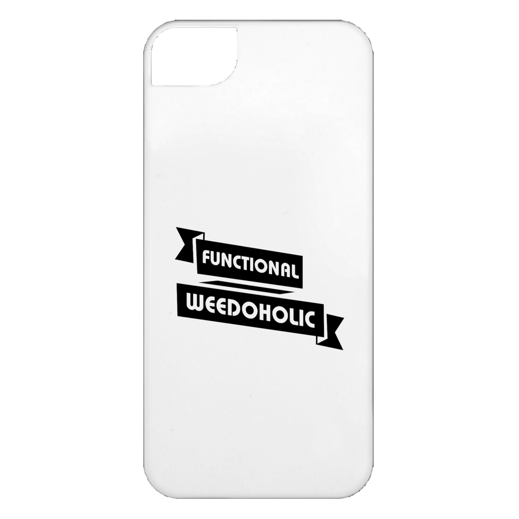 Functional Weedoholic iPhone 5 Case