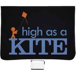High As A Kite Messenger Bag