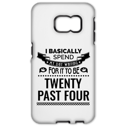Waiting For 20 Past 4 Samsung Galaxy S6 Edge Tough Case