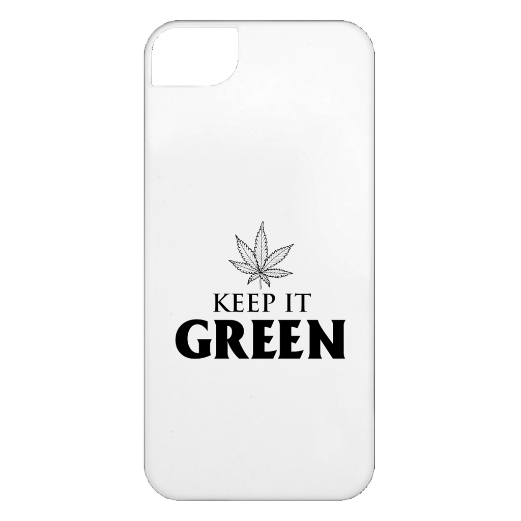 Keep It Green iPhone 5 Case