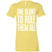 One Blunt Ladies T-Shirt