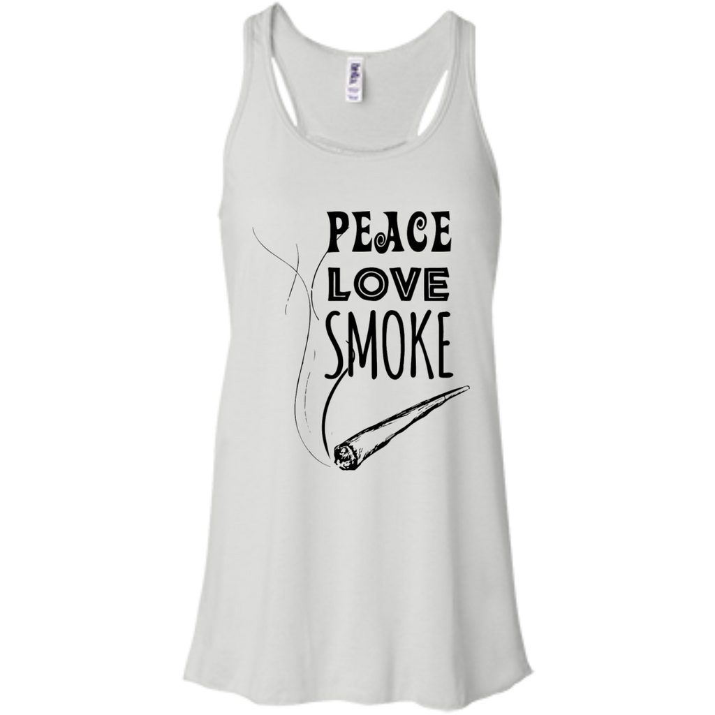 Peace Love Smoke Flow Tank
