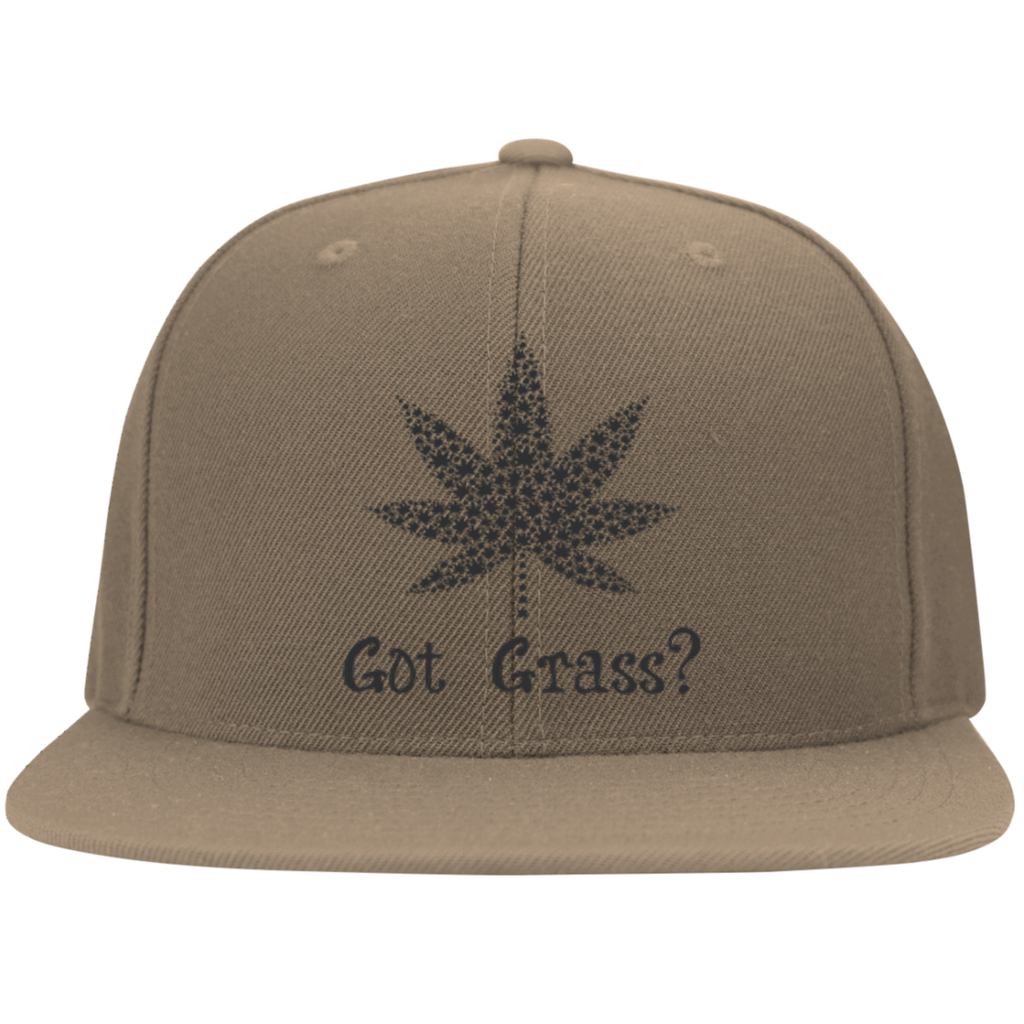 Got Grass Flat Bill Cap