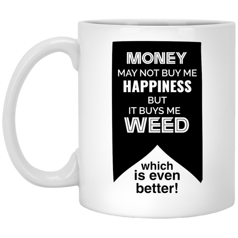 Buying Happiness... Mug