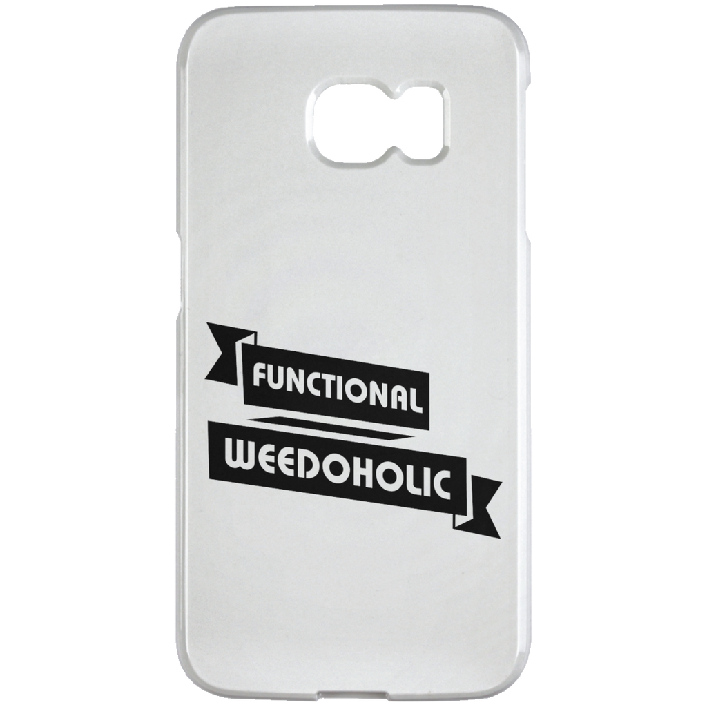 Functional Weedoholic Samsung Galaxy S6 Edge Case