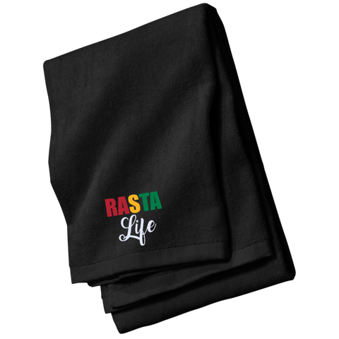 Rasta Life Beach and Bath Towel