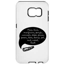 Weed Words Samsung Galaxy S7 Tough Case