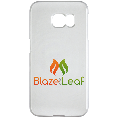 Blaze And Leaf Logo Samsung Galaxy S6 Edge Case