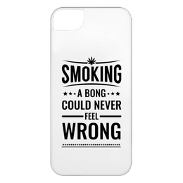 Smoking A Bong iPhone 5 Case