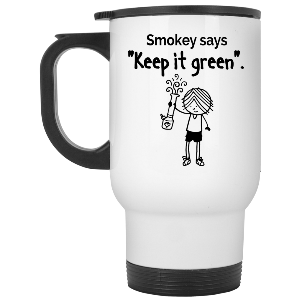 Smokey says Travel Mug