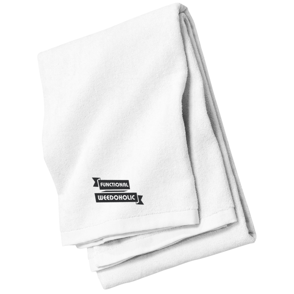 Functional Weedoholic Beach and Bath Towel