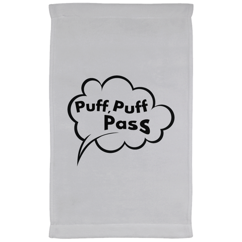 Puff, Puff, Pass Kitchen Towel