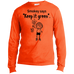 Smokey says Men's Long Sleeve T-Shirt