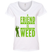A Friend Indeed Ladies V-Neck T-Shirt