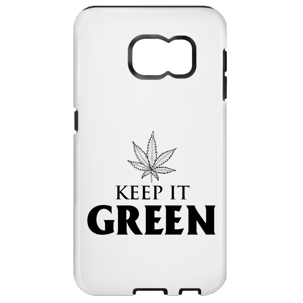 Keep It Green Samsung Galaxy S7 Tough Case