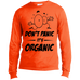 Don't Panic, It's Organic Men's Long Sleeve T-Shirt