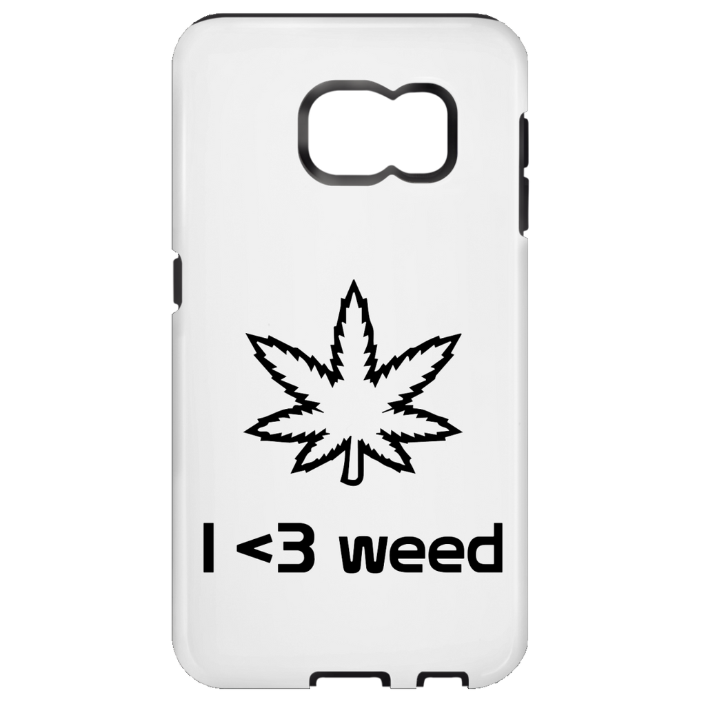 I <3 Weed Samsung Galaxy S7 Tough Case