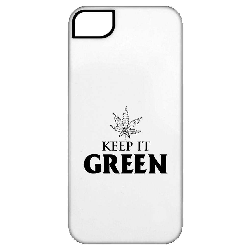 Keep It Green iPhone 5 Tough Case