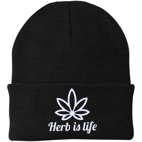 Herb Is Life Beanie