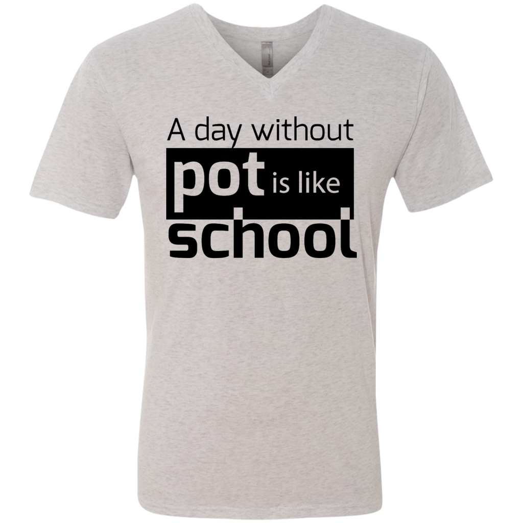 Like School Men's V-Neck T-Shirt