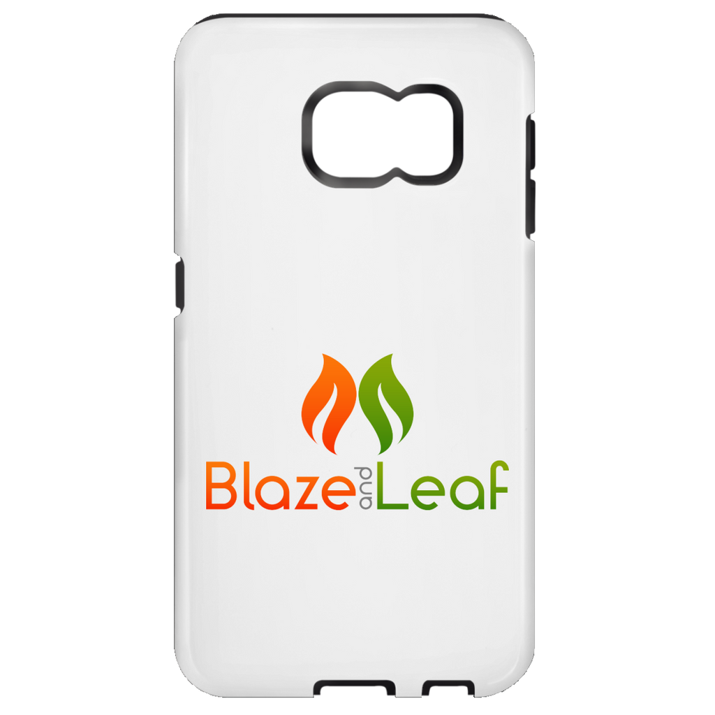 Blaze And Leaf Logo Samsung Galaxy S7 Tough Case