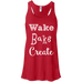 Wake Bake Create Flow Tank