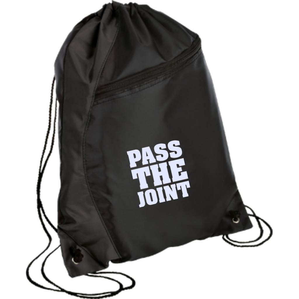 Pass The Joint Drawstring Bag