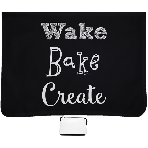 Wake Bake Create Messenger Bag