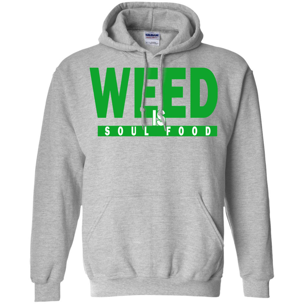 Weed Is Soul Food Hoodie