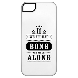 We'd All Get Along iPhone 5 Tough Case