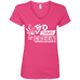 50 Shades Ladies V-Neck T-Shirt