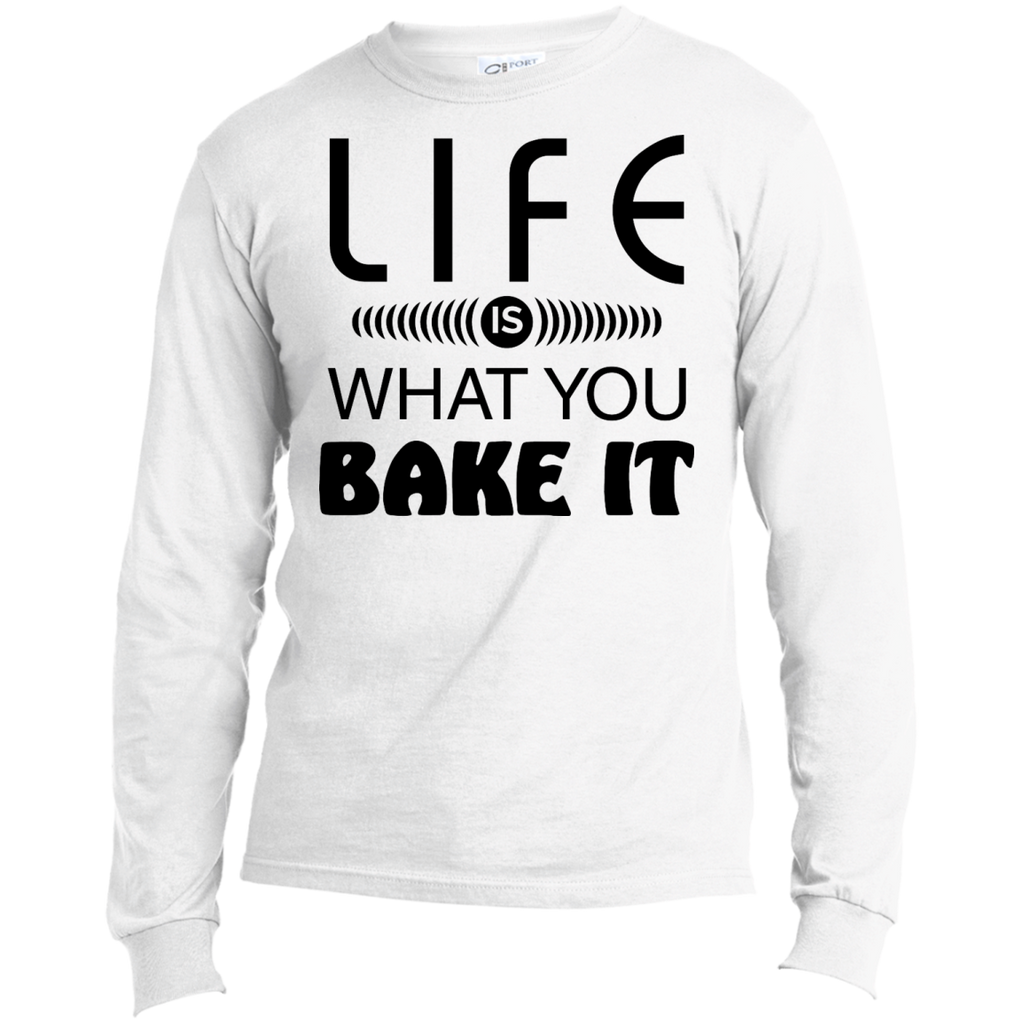 Life Is What You Bake It Men's Long Sleeve T-Shirt