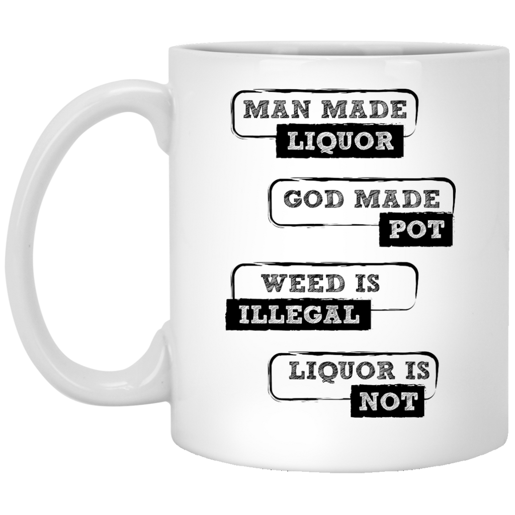Man Made Liquor Mug
