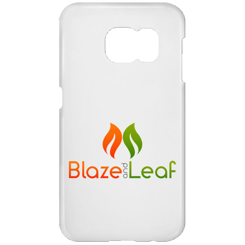 Blaze And Leaf Logo Samsung Galaxy S7 Phone Case