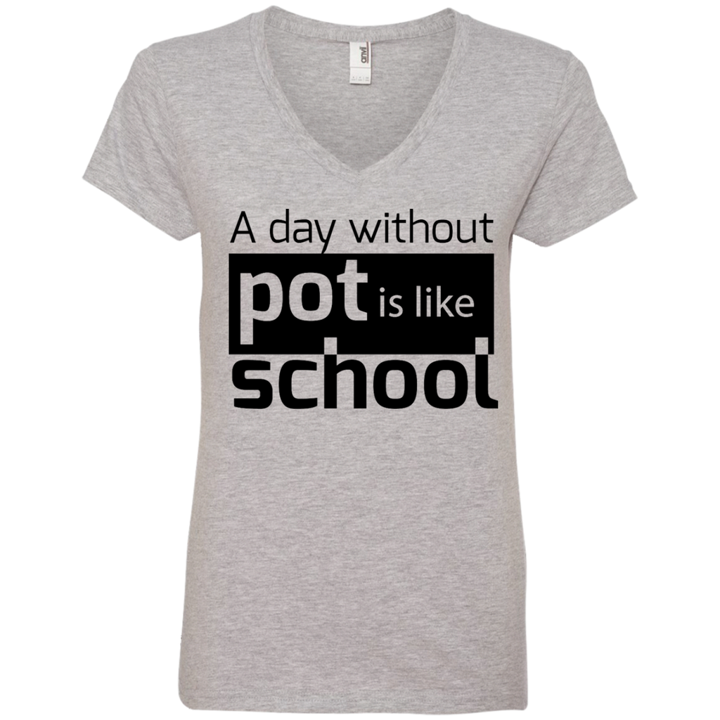 Like School Ladies V-Neck T-Shirt