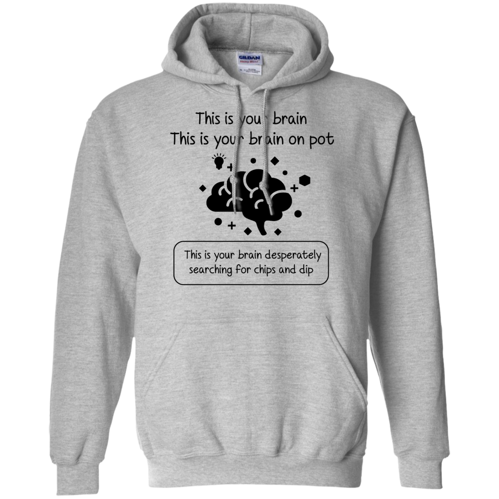 This Is Your Brain On Pot Hoodie