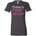 Sponsored By Mary Jane Ladies T-Shirt