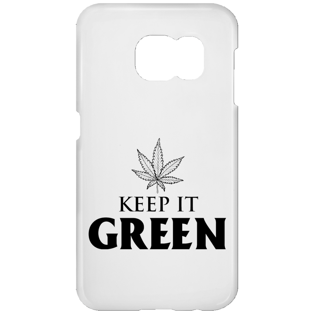 Keep It Green Samsung Galaxy S7 Phone Case