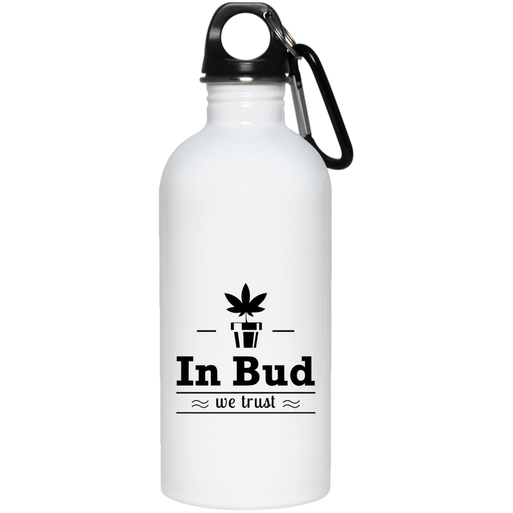In Bud We Trust Water Bottle