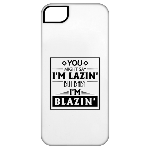 Baby I'm Blazing iPhone 5 Tough Case